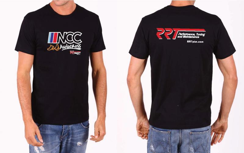 NCC Autocross t-shirts